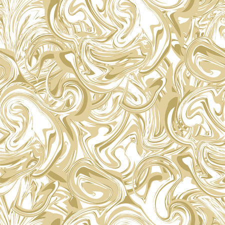 Vector seamless pattern texture in marbl. Hand drawn marbling illustration technique.