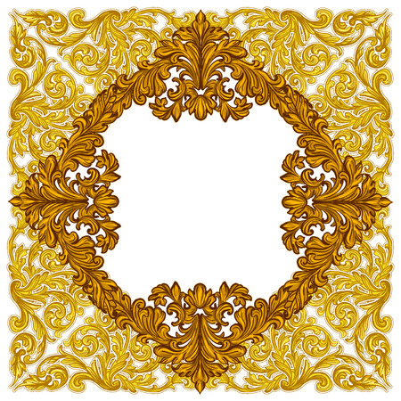 82,663 Baroque Frame Cliparts, Stock Vector And Royalty Free Baroque ...