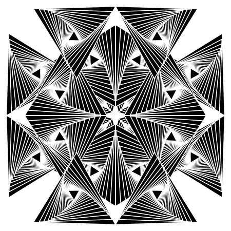 abstract: Abstract geometry vector