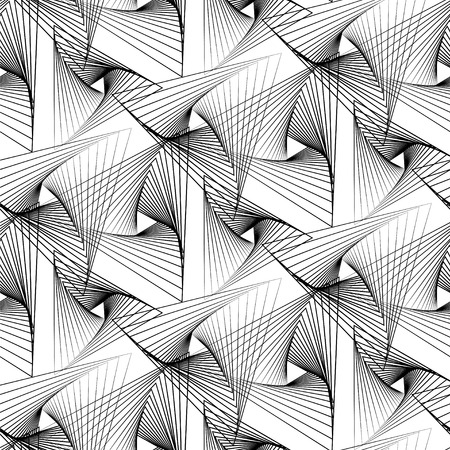 abstract: Abstract geometry seamless pattern