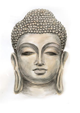 Hoofd lachende Boeddha