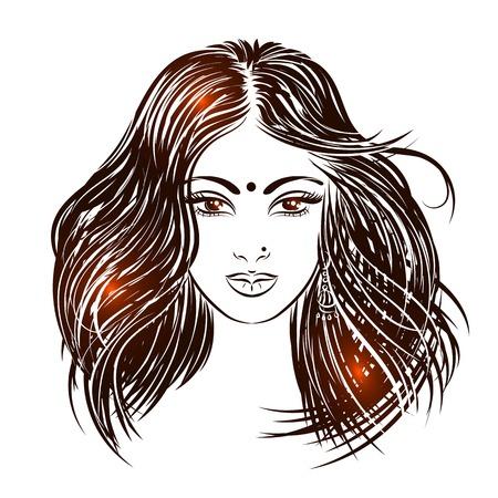 Indian girls face