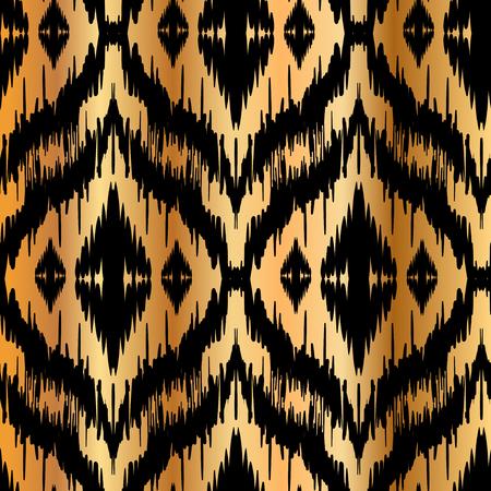 drapes: Ikat Ogee Background