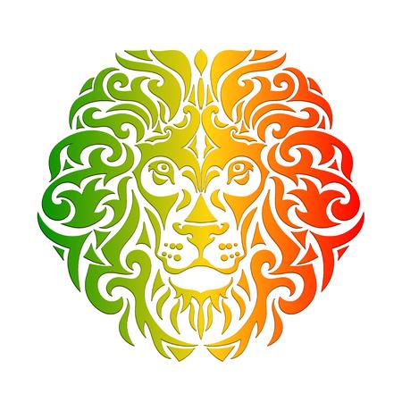 Rasta lion vettore