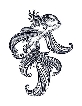 koi carp tatoo
