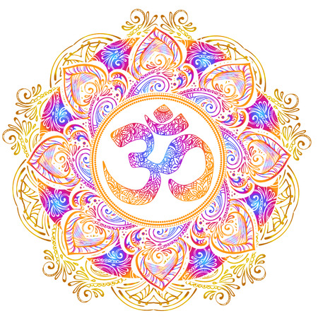 Isolated image mandala vector illustration.