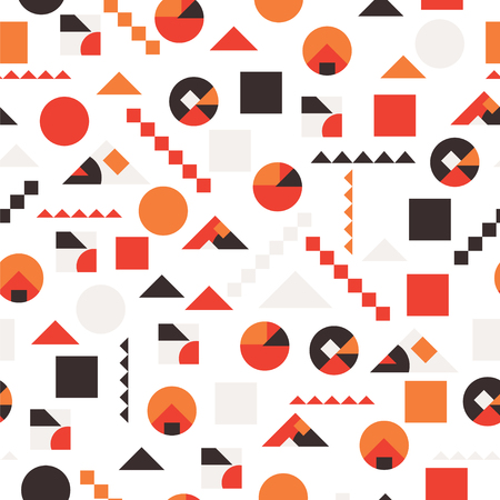 Seamless pattern in abstract.