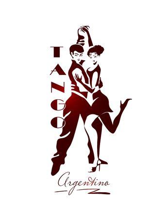 passionate Argentine tango