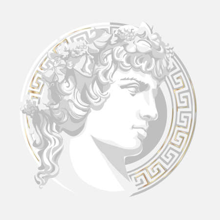 Antinous in the image of God Apollo
