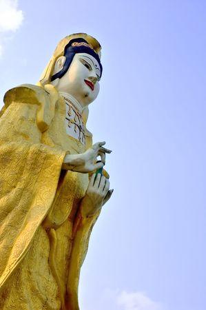 devotional: buddha statue Stock Photo