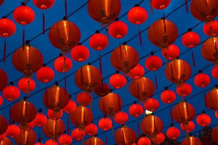 chinese lanterns photo