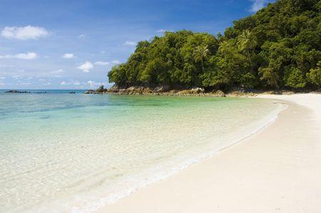 blue beach  photo