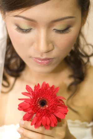 asian bride Stock Photo - 3414691