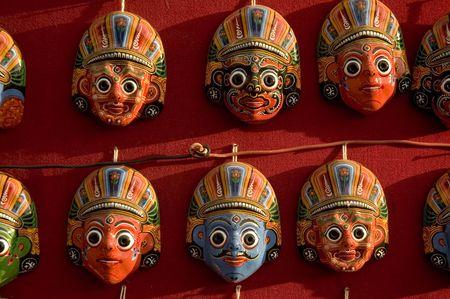 mask of nepal photo