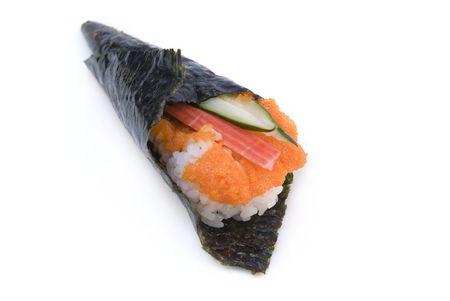 tekka: isolated sushi Stock Photo