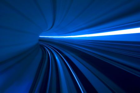 blurred motion tunnel Stock Photo - 3517923