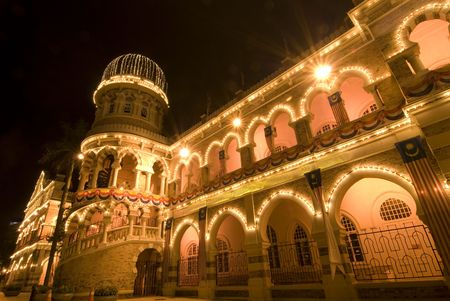 sultan: sultan abdul samad building in kuala lumpur