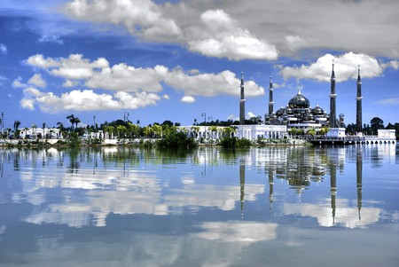 mosque with reflection Stock Photo - 4230061