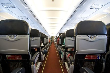airplane interior Stock Photo - 5796422