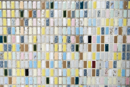 random colored tiles background ideal for backgrounds Stock Photo - 14378772