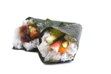 tekka: isolated sushi,california roll