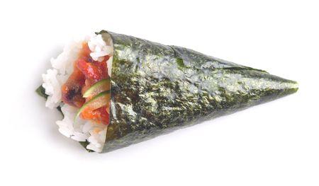 makki: isolated sushi Stock Photo