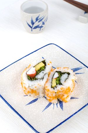 tekka: sushi on a plate