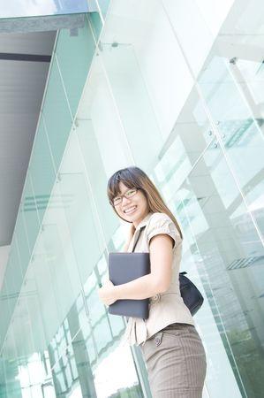 asian business women: asian business women smiling