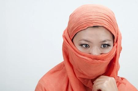portrait if an islamic women Stock Photo - 7888681