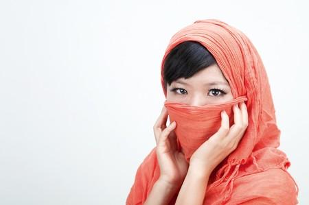 close up photo of islamic woman  Stock Photo - 7888679