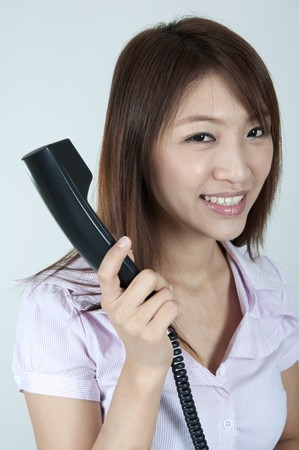 asian contact centre female  photo
