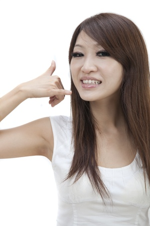 asian female contact us photo