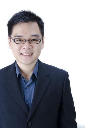 portrait of an asian business man  photo