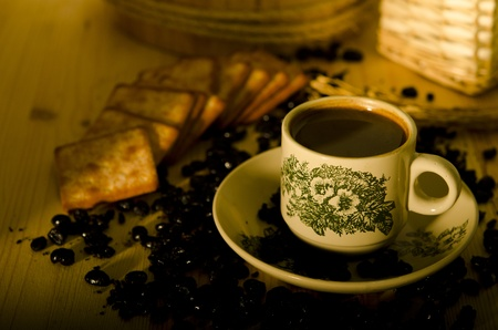 south east asian: Del sur asi�tico de caf� de la ma�ana