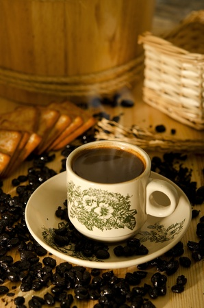 Traditional chinese nan yang style coffee photo
