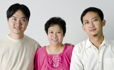 Asian family Stock Photo - 10044870