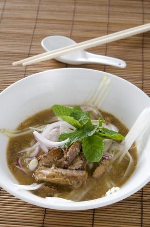 laksa: malaysian famous food asam laksa