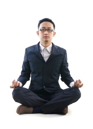 asian business yoga