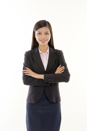 asian south east asian girl in formal wear photo