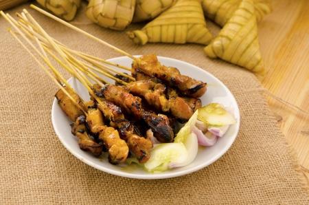沙爹马来人的美食,重点是沙爹