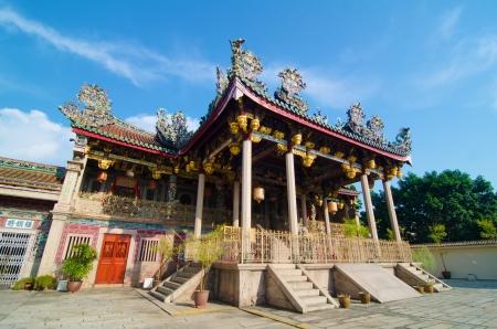 malaysia culture: Khoo kongsi temple at penang