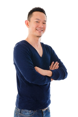 asian male in casual photo