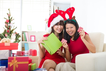 ni�as chinas: ni�as chinos celebran la Navidad
