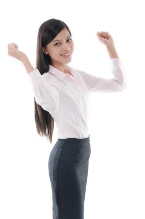 south asian: malay business woman success