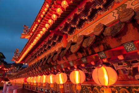 Čínský nový rok chrám docrations