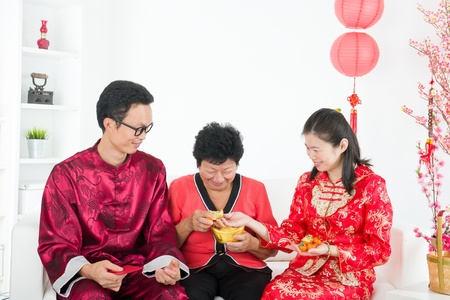 ang: chinese new year family during chinese new year