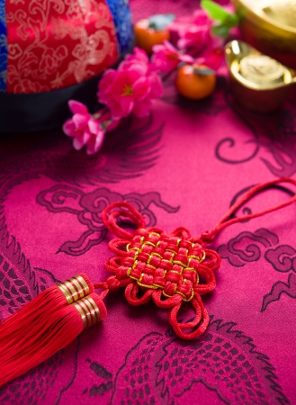 chinese new year festival decorations photo