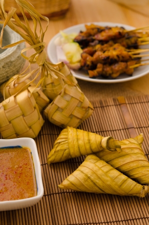 ketupat malaysian traditional food Stock Photo - 17552221