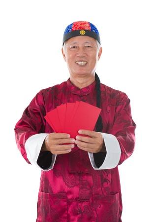 chinese new year man photo