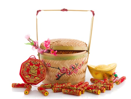 cai: gong xi fa cai , traditional chinese new year items